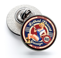 Pin de Solapa Magglass Cartel Vintage nº9 16mm