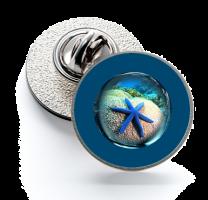 Pin de Solapa Magglass Fondo Marino Nº10 16mm