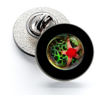 Pin de Solapa Magglass Fondo Marino Nº13 16mm
