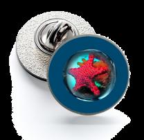 Pin de Solapa Magglass Fondo Marino Nº16 16mm