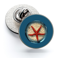 Pin de Solapa Magglass Fondo Marino Nº18 16mm