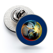 Pin de Solapa Magglass Fondo Marino Nº23 16mm