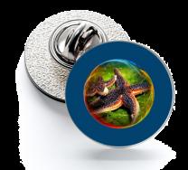 Pin de Solapa Magglass Fondo Marino Nº4 16mm