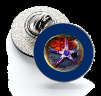 Pin de Solapa Magglass Fondo Marino Nº6 16mm
