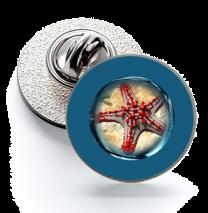 Pin de Solapa Magglass Fondo Marino Nº7 16mm