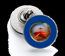 Pin de Solapa Magglass Fondo Marino Nº9 16mm