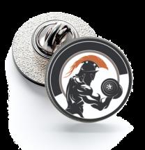 Pin de Solapa Magglass Gladiador 16mm