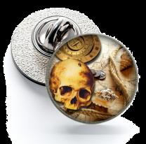 Pin de Solapa Magglass Ilustraciones Calavera Nº6 16mm