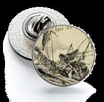 Pin de Solapa Magglass Monstruos y Criaturas del Mar Nº16 16mm