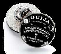 Pin de Solapa Magglass Ouija Black 16mm