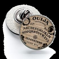 Pin de Solapa Magglass Ouija White 16mm