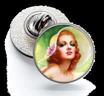 Pin de Solapa Magglass Pin Up Girls Nº17 16mm