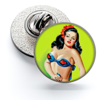 Pin de Solapa Magglass Pin Up Girls Nº22 16mm