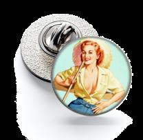Pin de Solapa Magglass Pin Up Girls Nº7 16mm