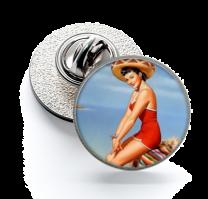Pin de Solapa Magglass Pin Up Girls Nº9 16mm