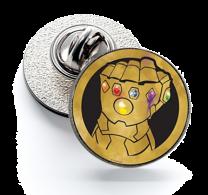 Pin de Solapa Magglass Puño Thanos