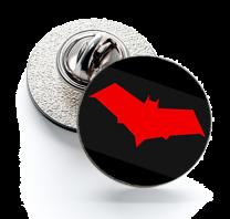 Pin de Solapa Magglass Red Hood Logo Black