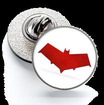 Pin de Solapa Magglass Red Hood Logo White