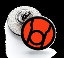 Pin de Solapa Magglass Red Lanterns Corps