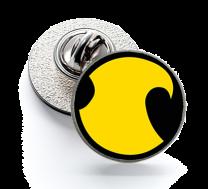 Pin de Solapa Magglass Red Robin Logo