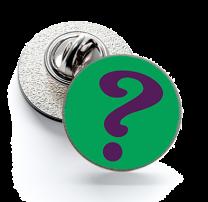 Pin de Solapa Magglass Riddler Logo mod 2