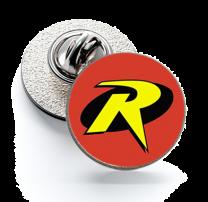 Pin de Solapa Magglass Robin Logo