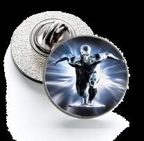 Pin de Solapa Magglass Silver Surfer