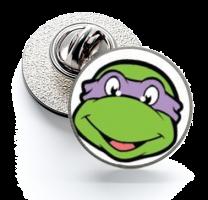 Pin de Solapa Magglass Tortugas Ninja Donatello