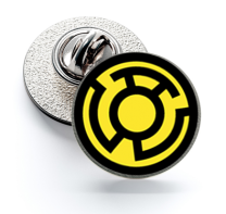 Pin de Solapa Magglass Yellow Lantern