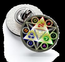 Pin de Solapa Magglass Zelda mod 2