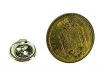 Pin de Solapa Moneda Original 1 Peseta Aguila de San Juan