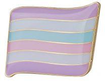 Pin de Solapa Primera Versión de la Bandera Intersex LGTBI