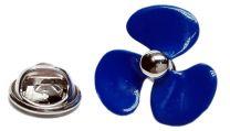 Pin de Solapa Propulsor de Barco Azul