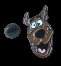 Pin de Solapa Scooby Face 30x16mm