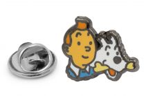 Pin de Solapa Tintin y Milu 22x20 mm