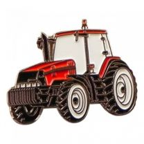 Pin de Solapa Tractor Rojo 25x15mm