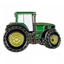 Pin de Solapa Tractor Verde 25x15mm