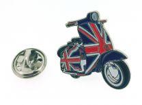 Pin de Solapa Vespa Bandera Union Jack Reino Unido
