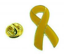 Pin de Solapa Yellow Ribbon-Lazo Amarillo