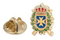 Pin de Solapa del Escudo de la Inspección General de Sanidad de la Defensa