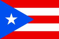 Bandera Puerto Rico 90x150cm