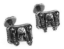 Gemelos Gothic Skull Chain