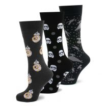 PACK 3 Pares de Calcetines Star Wars The Force Awaken Pack