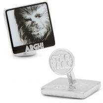 Gemelos Star Wars Chewbacca Argh! Cufflinks