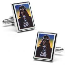 Gemelos Star Wars Darth Vader Movie Poster Cufflinks