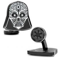 Gemelos Star Wars Darth Vader Sugar Skull Cufflinks