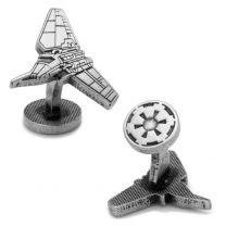 Gemelos de Camisa Star Wars Imperial Shuttle Episode VII Cufflinks